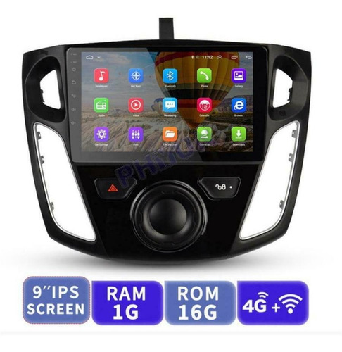 Se Adapta A La Radio Estéreo Del Coche Ford Focus 2012-17 9