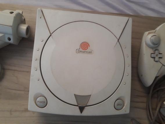 Console Dreamcast + Acessórios E Jogos