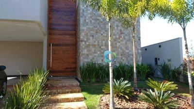 Casa Com 4 Dormitórios À Venda, 450 M² - Condomínio Bella Vista - Ribeirão Preto/sp - Ca0230