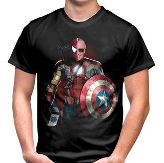 Camiseta, Vingadores, Stan Lee, Marvel Comic, Personalizado