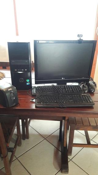 Computador I5 + Monitor Lg 22 Polegadas + Acessórios Brinde