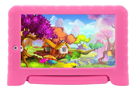Tablet Multilaser Kid Pad Nb279, Quad Core Android 7.0 Wi-fi