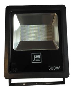 Reflector Proyector Led 300w Luz Fría 120º Ip65 Exterior Canchas 1 Año Garantía