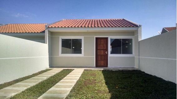 Casa Para Venda Em São José Dos Pinhais, Campo Largo Da Roseira, 3 Dormitórios, 1 Banheiro, 1 Vaga - L763_2-770093