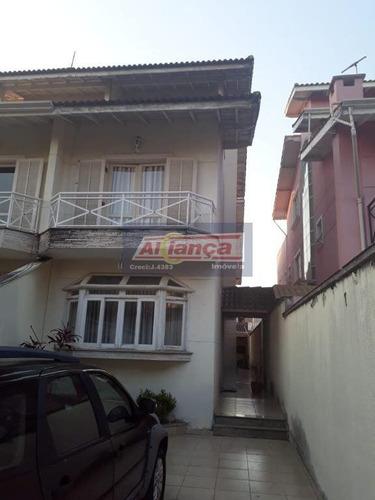 Sobrado Com 4 Dormitórios À Venda, 200 M² Por R$ 750.000,00 - Parque Renato Maia - Guarulhos/sp - Ai5642