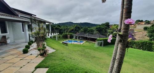 Imagem 1 de 30 de Chácara A Venda No Condomínio Villa Rica Em Bragança Paulista. - Ch00034 - 67748768