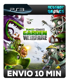 Plants Vs. Zombies Garden Warfare - Psn Ps3 - Pronta Entrega