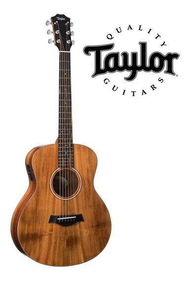 Taylor Gs Mini-e Koa Elétrico + Bag Taylor