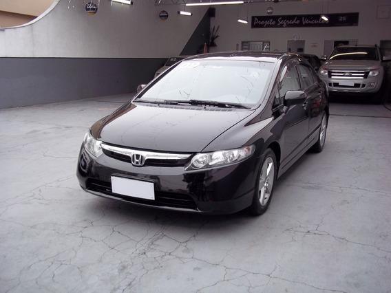 Honda Civic 1.8 Lxs Flex Aut. - Completo