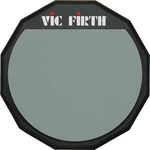Pad Goma De Practica Vic Firth Pad12 12 Pulgadas Simple