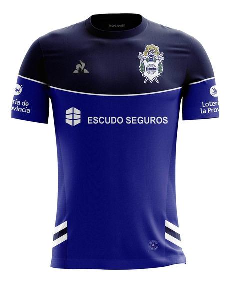 Camiseta Alternativa Gimnasia De La Plata Azul Lecoq Sportif
