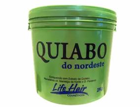 Hidratação Profunda De Quiabo Life Hair 2kg