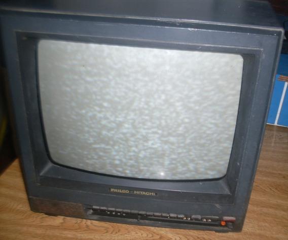 Tv Philco - Hitachi De 14 Polegada