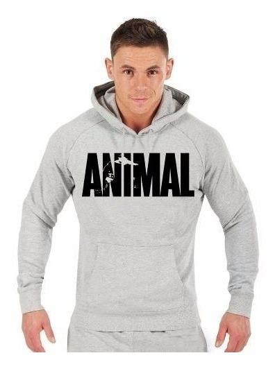 Blusa Animal Fitness (musculação Academia Moletom Canguru!