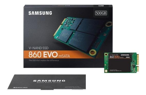 Ssd - Msata - 500gb - Samsung 860 Evo - Mz-m6e500bw
