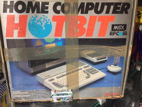 Video Game Msx Hotbit Hb-8000 Funcionando Perfeitamente