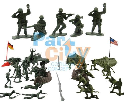 Soldaditos De Plastico Juguetes Regalos Soldados Mini X12 Un