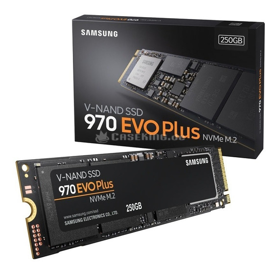 Ssd Samsung 970 Evo Plus 250 Gb Nvme M.2