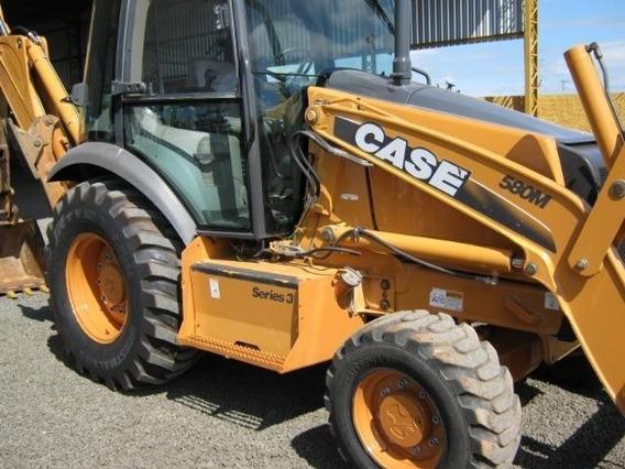 Retro Escavadeira Case 580 4x4 Cabina Da 2014