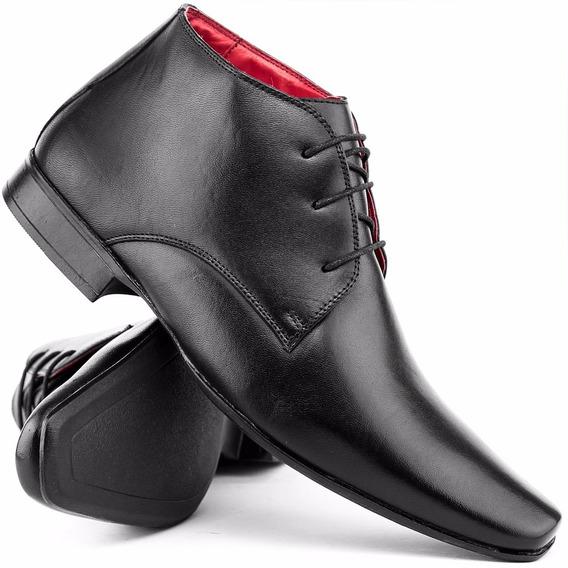 Sapato Social Masculino 100% Em Couro - Super Oferta