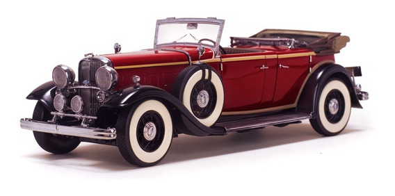 Ford Lincoln Kb Top Down 1932 Sunstar Platinum 1:18 6166