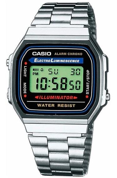 Reloj Casio Vintage Original A168wa-1vt Original E-watch