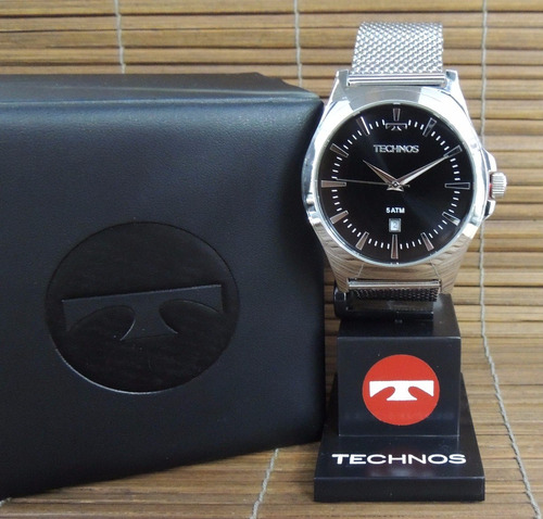 Relógio Technos Masculino 2115lal/0p Classic Steel ( Nf/gar)