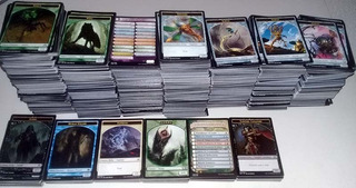 Lote 50 Tokes / Fichas Card Game Magic Mtg
