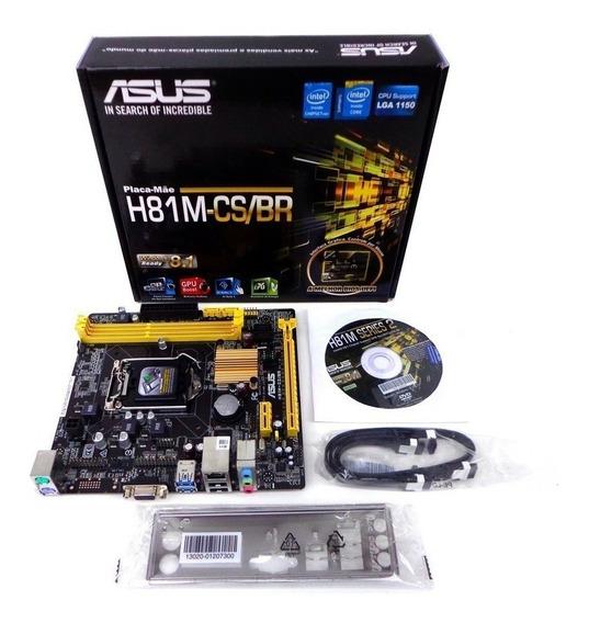 Kit Upgrade Gamer I5 4 Geração + Asus + 8gb Hyper X