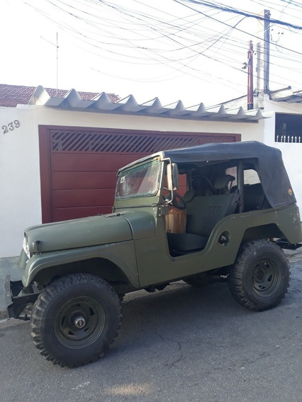 Jeep Willys 1973 Motor Ford Maverick 4x4 Gasolina