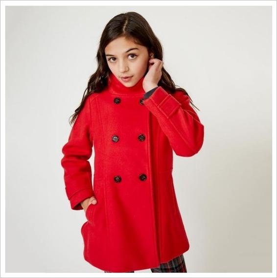 Abrigo Casual Para Niña Pink Rojo 825361 Kids 2-20 H