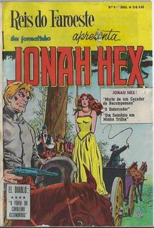 1977 Hq Quadrinhos Reis Do Faroeste Jonah Hex Nº 6 Ebal
