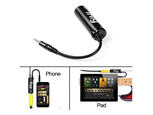 Interfaz Irig Ampliador De Guitarra Y iPhone + Regalo