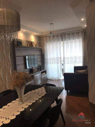 Imagem 1 de 13 de Apartamento À Venda, 98 M² Por R$ 690.000,00 - Jardim Aquarius - São José Dos Campos/sp - Ap3430