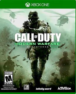 Call Of Duty Modern Warfare Remastered Xbox One Nuevo