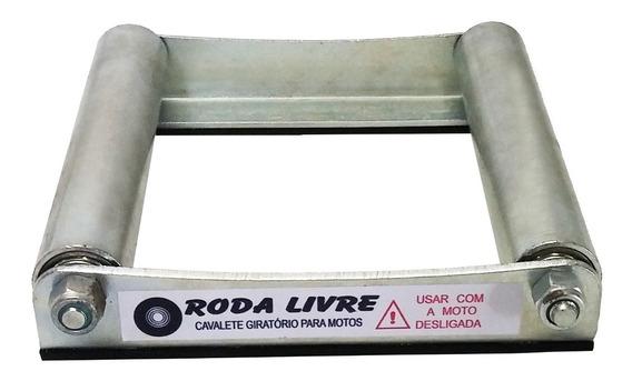 Cavalete Giratório Roda Livre Para Manutenção