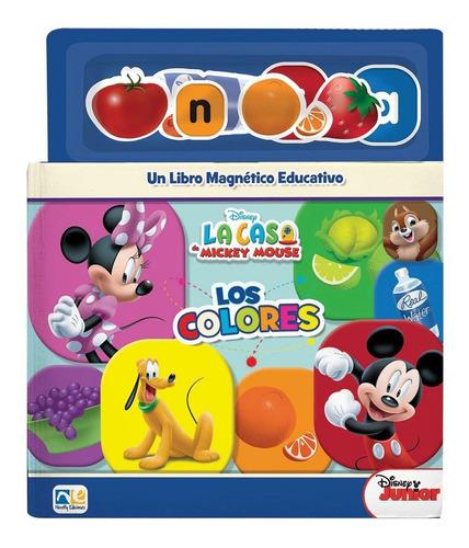 Mini Libro Magnetico Colores