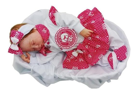 Kit Saída De Maternidade Para Meninas Personalizado