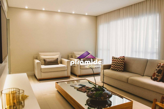 Apartamento Com 3 Dormitórios À Venda, 124 M² Por R$ 850.000 - Jardim Esplanada - São José Dos Campos/sp - Ap10899