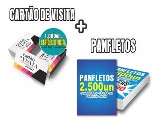 Kit Site + Panfletos + Cartão De Visita + Banner + Logo