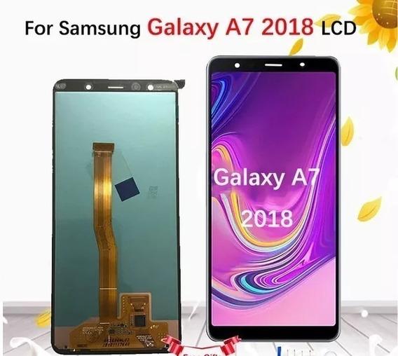Lcd Samsung A 750 2018 Testado