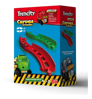 Trencity Curvas Grandes X4 Unidades - Tienda Oficial -