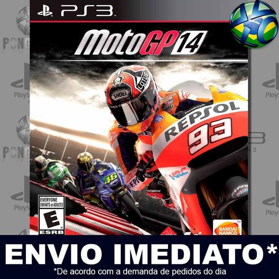 Motogp 14 Ps3 Psn Jogo Em Promoção A Pronta Entrega Play 3