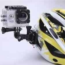 Camera Filmafull Hd 12mp Wifi Capacete Montaini Bike Shoe
