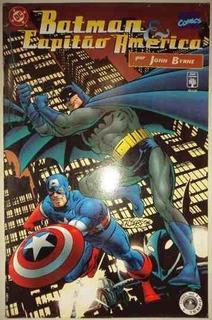 Hq Batman E Capitão América