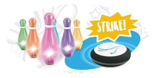 Juego Magic Bowling Y Tejo Luminoso 2 Juegos En 1 Original