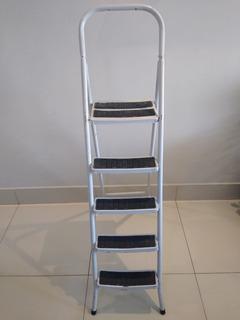 Escada De Alumínio - 05 Andares