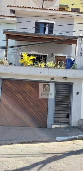 Sobrado Com 3 Dormitórios À Venda, 120 M² Por R$ 440.000 - Vila Aurora - São Paulo/sp - So0331