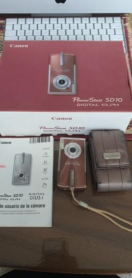 Camera Canon Sd 10