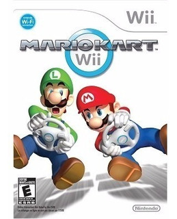 Mario Kart Wii Sellado Con Volante Envio Gratis 24 Hrs
